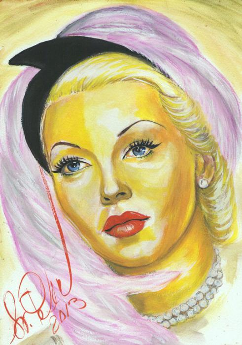 Lana Turner by svetliaciok